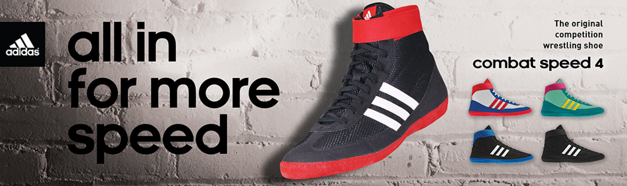 Adidas - All in for more speed