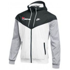 MN/USA Wrestling Black/White Nike Windrunner Jacket