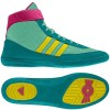 Wrestling Shoes adidas Combat Speed 4 Blast Emerald/Vivid Yellow/Blast Pink