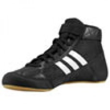 Wrestling Shoes adidas HVC Youth Laced Black/Running White/Gum