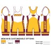 My House Custom Sublimated Wrestling Singlet MSW-001B