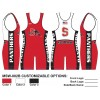 My House Custom Sublimated Wrestling Singlet MSW-002B
