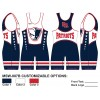 My House Custom Sublimated Wrestling Singlet MSW-007B