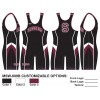 My House Custom Sublimated Wrestling Singlet MSW-009B