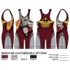 My House Custom Sublimated Wrestling Singlet MSW-010B