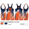 My House Custom Sublimated Wrestling Singlet MSW-011B