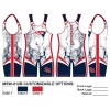 My House Custom Sublimated Wrestling Singlet MSW-012B