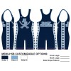 My House Custom Sublimated Wrestling Singlet MSW-015B
