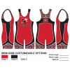 My House Custom Sublimated Wrestling Singlet MSW-020B