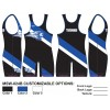My House Custom Sublimated Wrestling Singlet MSW-024B