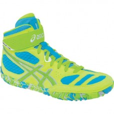 Wrestling Shoes ASICS Aggressor 2 LE Neon Blast