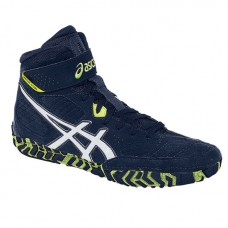 Wrestling Shoes ASICS Aggressor 2 Estate Blue/White/Flash Yellow