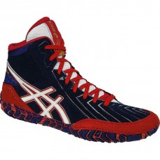 Wrestling Shoes ASICS Aggressor 3 Estate Blue/White/True Red