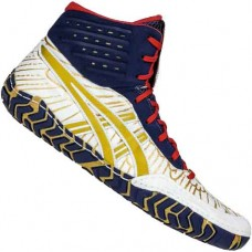 Wrestling Shoes ASICS Aggressor 4 White/Rich Gold
