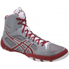 Wrestling Shoes ASICS Cael V7.0 Aluminum/Burgundy/White