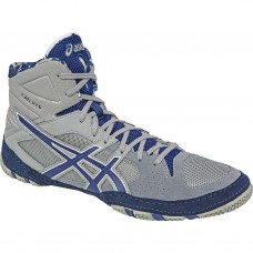 Wrestling Shoes ASICS Cael V7.0 Light Grey/Estate Blue/White