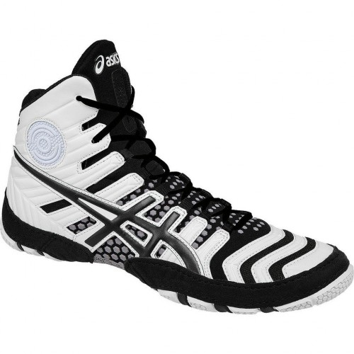 wrestling shoes asics dan gable ultimate 4 whiteblack