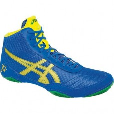 Wrestling Shoes ASICS Jordan Burroughs JB Elite V2.0 Classic Blue/Rich Gold/Sun