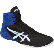 Wrestling Shoes ASICS Matcontrol Black/White/Royal