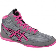 Wrestling Shoes Asics Matflex 5 GS Youth Aluminum/Hot Pink/Black