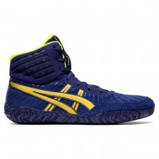 Wrestling Shoes ASICS Aggressor 4 Dive Blue/Rich Gold