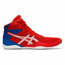 Wrestling Shoes Asics Matflex 6 GS Youth Red/White/Royal