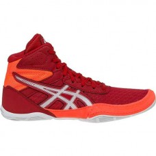 Wrestling Shoes Asics Matflex 6 GS Youth Red/Flash Coral