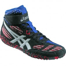 Wrestling Shoes ASICS Aggressor 2 LE Onyx/White/Faded Glory