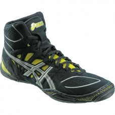 Wrestling Shoes ASICS Dan Gable Ultimate 3 Black/Silver/Yellow