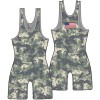 Cliff Keen S744338 Digi-Camo Custom Team Sublimated Camo Singlet