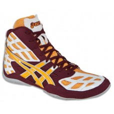 Wrestling Shoes ASICS Split Second 9 Cardinal/Tang/White