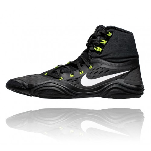 c016c087f481 Wrestling Shoes Nike Hypersweep Black Volt by JRWrestling