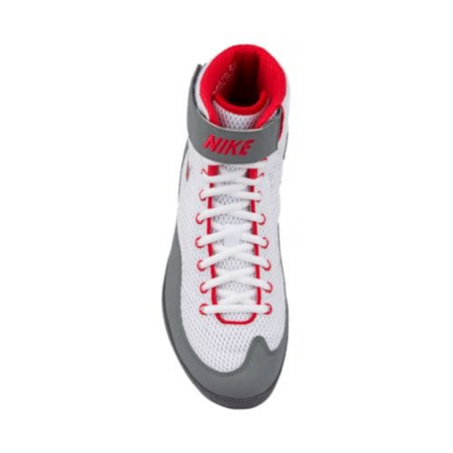 3bb714c44b8e Wrestling Shoes Nike Inflict 3 White Red Grey by JRWrestling
