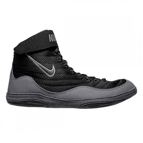 e7da8a264195 Wrestling Shoes Nike Inflict 3 Black Black Dark Grey Anthracite by  JRWrestling