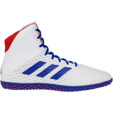 Wrestling Shoes adidas Mat Wizard 4 White/RoyalRed
