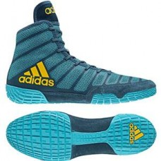 Wrestling Shoes adidas adiZero Varner 2 Aqua/Yellow