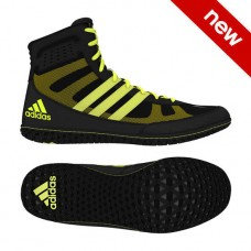 Wrestling Shoes adidas Mat Wizard David Taylor Black/Solar Yellow