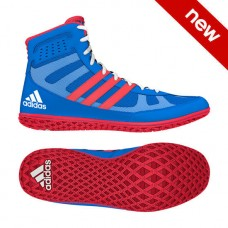 Wrestling Shoes adidas Mat Wizard David Taylor Royal/Red/White