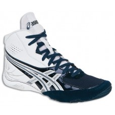 Wrestling Shoes ASICS Cael V4.0 White/Navy/Silver